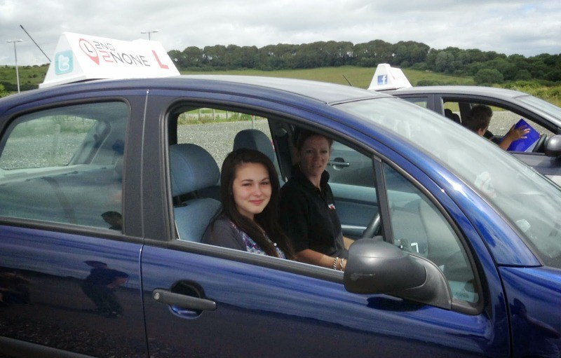 under 17s driving lessons weymouth - kayleigh jones