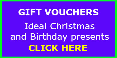 gift voucher button blue
