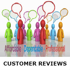 new customer reviews button