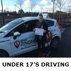 Under 17s Driving Lessons Cornwall
