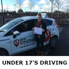 Under 17's Driving Lessons St Dennis