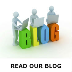 new read our blog button