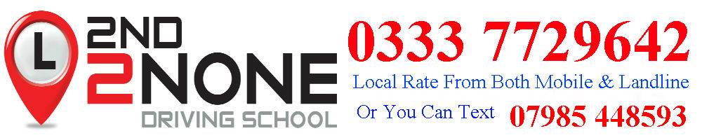 2nd2none Driving School, site logo.