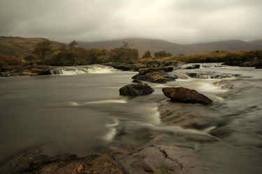 river on road to bunessan