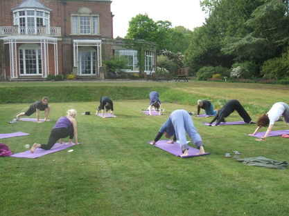 yoga on the lawn 2