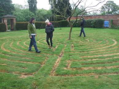 Labyrith meditation