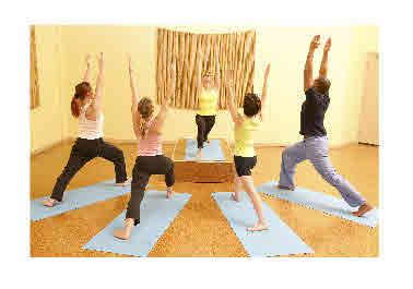 yoga group