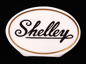 Shelley Advertising Sign