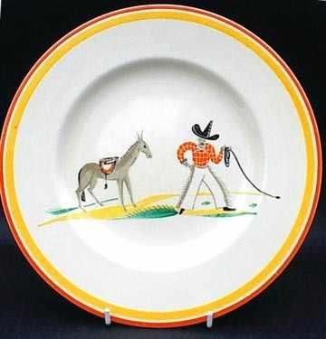 COWBOY PLATE