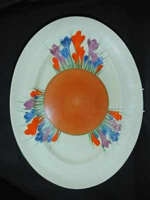 CROCUS LARGE PLATE