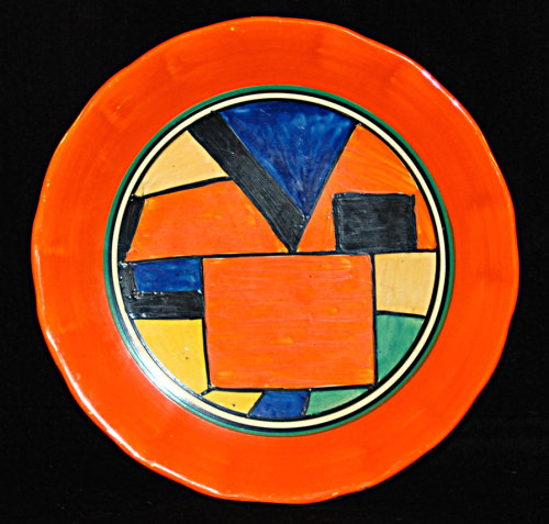 CUBIST PLATE