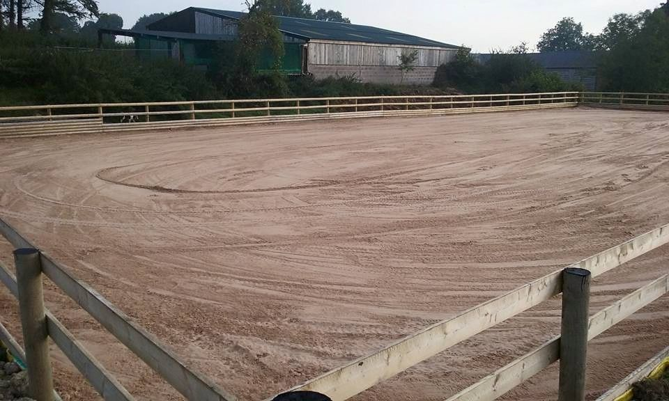 Local Riding Arena Surface