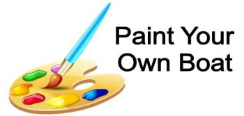 paint your own boat
