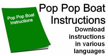 pop pop boat instructions download here