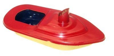 Mini - Funnel Pop Pop Boat - Red.