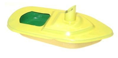 Mini - Funnel Pop Pop Boat - Yellow.