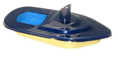 Mini - Funnel Pop Pop Boat - Dark Blue