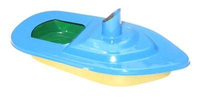 Mini - Funnel Pop Pop Boat - Sky Blue