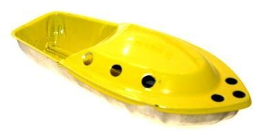 Broad Cruiser Pop Pop Boat -  Yellow.
