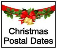 Last Christmas Postal Dates 2016