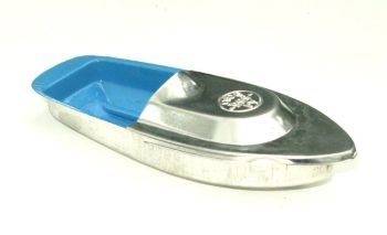 Avon 555 Pop Pop Boat - Sky Blue with Silver Top.