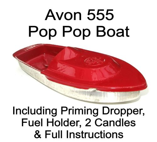 Avon 555 Pop Pop Boat - Red.