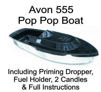 Avon 555 Pop Pop Boat - Black.