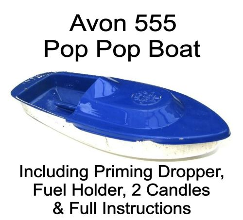 Avon 555 Pop Pop Boat - Blue