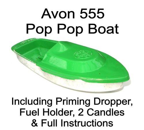 Avon 555 Pop Pop Boat - Green.
