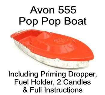 Avon 555 Pop Pop Boat - Orange.