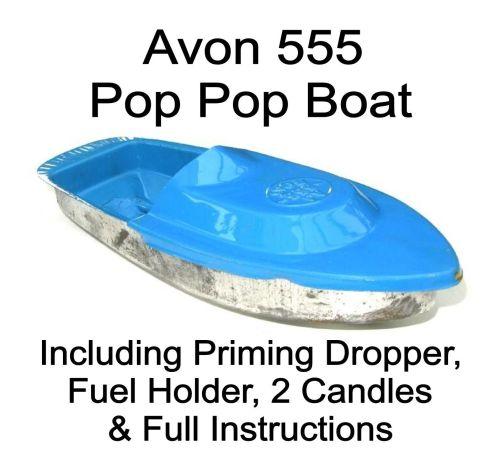 Avon 555 Pop Pop Boat - Sky Blue