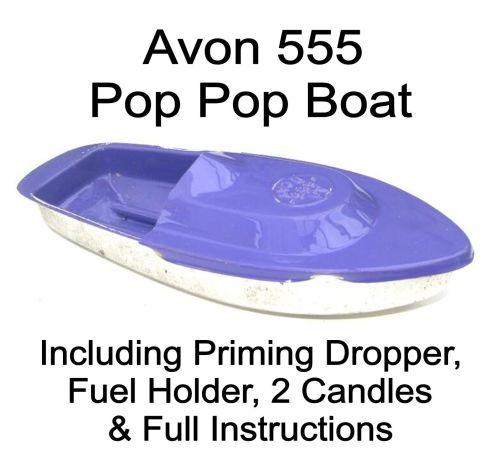Avon 555 Pop Pop Boat - Violet.