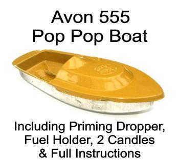 Avon 555 Pop Pop Boat - Yellow.