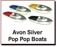 Avon 555 Silver Pop Pop Boats