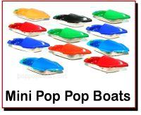 Mini Pop Pop Boats