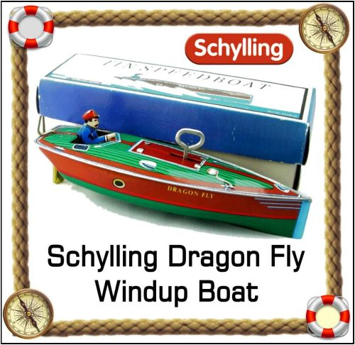Schylling Collectors, Dragon Fly Boat, 1996.