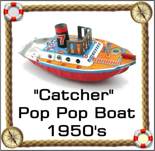 Catcher Pop Pop Boat, 1950 - 1960 Approx