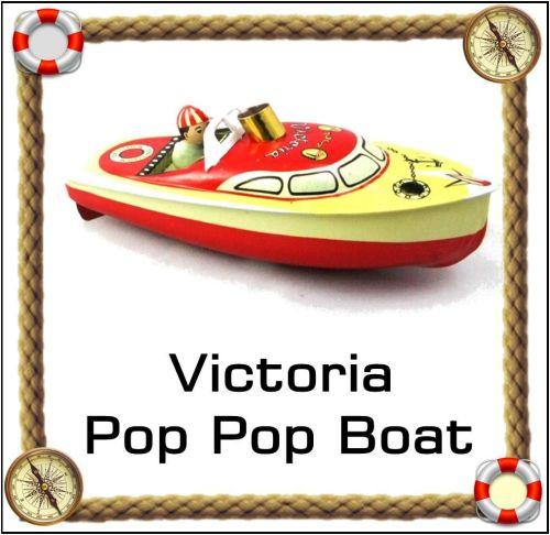 Victoria Pop Pop Boat.