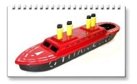 <!-- 0027 -->Titanic Pop Pop Boats