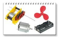 <!-- 094 -->Motors, Gearbox Kits, Propellers.