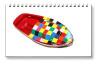 <!-- 06091 -->Chequered - Pop Pop Boats