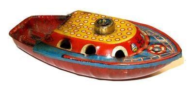 Pop Pop Boat. 1950's.
