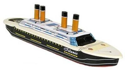 Titanic Pop Pop Boat.