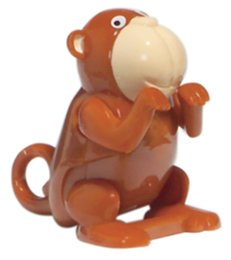 Flippin Animal Wind Up Monkey