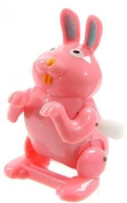 Flippin Animal Wind Up Rabbit