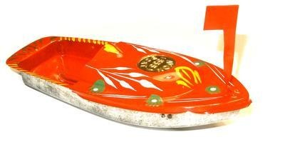 Avon 555 Pop Pop Boat - Orange.