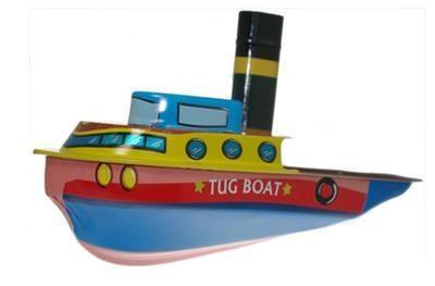 New Lithopraphed Tug Boat.