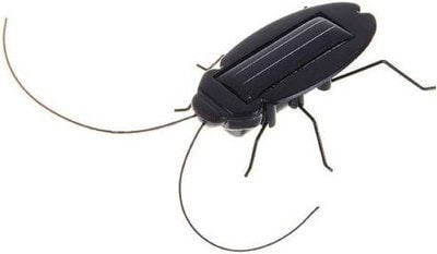 Cockroach Solar Powered Bug.
