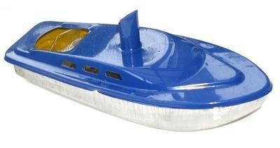 Rum Runner Pop Pop Boat -  Blue.