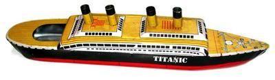 Rattandeep Titanic pop-pop boat.